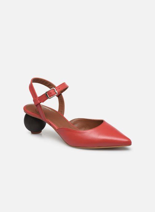 Zapatos de tacón Made by SARENZA Riviera Couture Escarpin #5 Rojo vista lateral derecha
