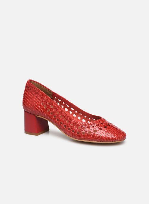 Zapatos de tacón Made by SARENZA Riviera Couture Escarpin #6 Rojo vista lateral derecha