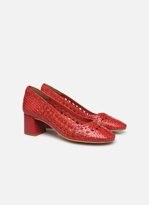 Pumps Made by SARENZA Riviera Couture Escarpin #6 Rood achterkant
