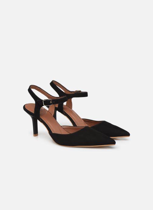 Zapatos de tacón Made by SARENZA Riviera Couture Escarpin #8 Negro vistra trasera