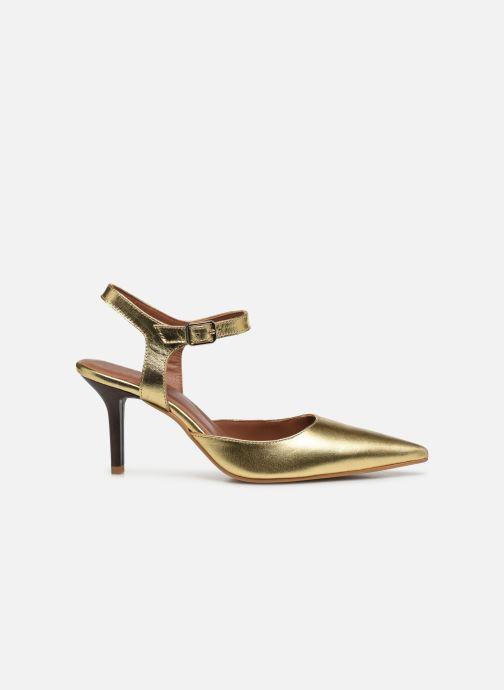 Escarpins Made by SARENZA Riviera Couture Escarpin #8 Or et bronze vue détail/paire