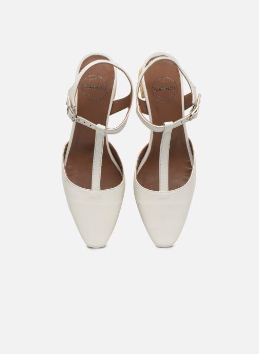 Escarpins Made by SARENZA Riviera Couture Escarpin #4 Blanc vue portées chaussures
