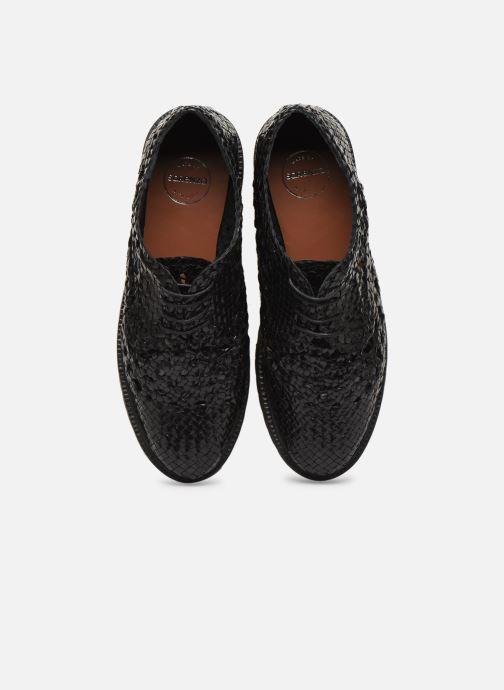 Scarpe con lacci Made by SARENZA Riviera Couture Souliers #1 Nero modello indossato
