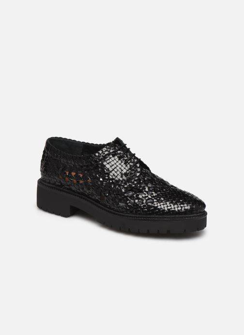 Chaussures à lacets Made by SARENZA Riviera Couture Souliers #1 Noir vue droite