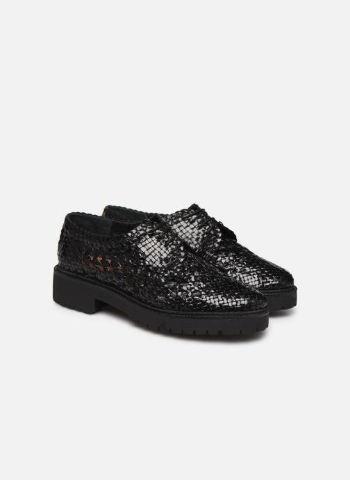 Chaussures à lacets Made by SARENZA Riviera Couture Souliers #1 Noir vue derrière