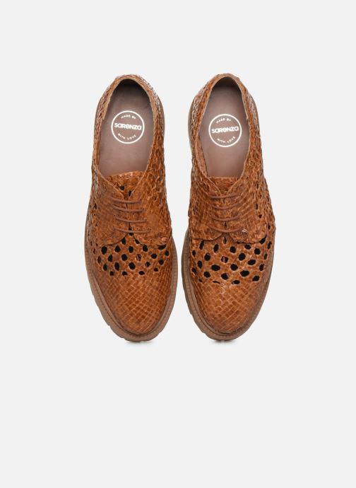 Chaussures à lacets Made by SARENZA Riviera Couture Souliers #1 Beige vue portées chaussures