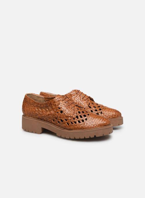 Chaussures à lacets Made by SARENZA Riviera Couture Souliers #1 Beige vue derrière