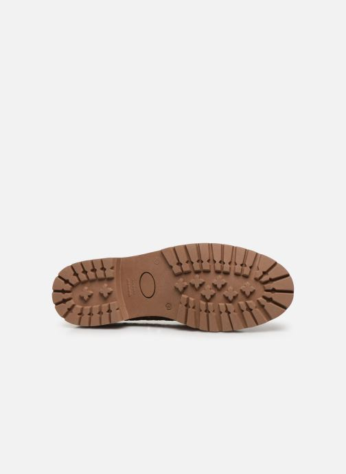 Chaussures à lacets Made by SARENZA Riviera Couture Souliers #1 Beige vue haut
