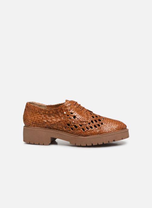 Chaussures à lacets Made by SARENZA Riviera Couture Souliers #1 Beige vue détail/paire