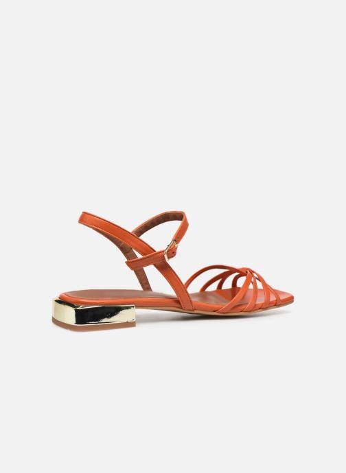 Sandalen Made by SARENZA Riviera Couture Sandales Plates #1 orange ansicht von vorne