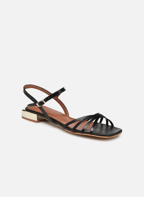 Sandales et nu-pieds Made by SARENZA Riviera Couture Sandales Plates #1 Noir vue droite
