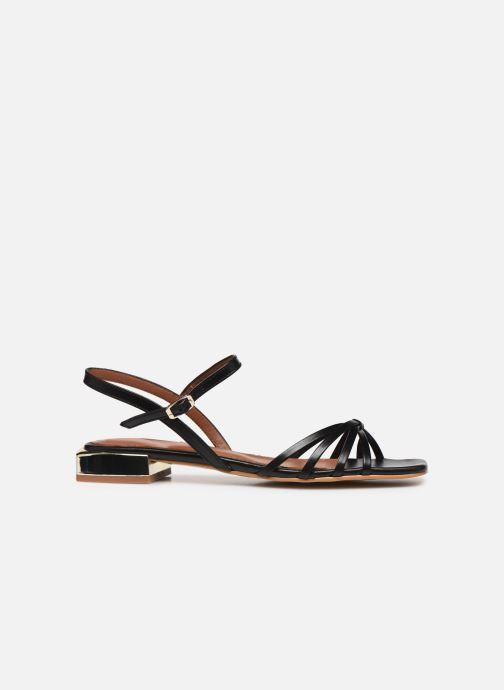 Sandales et nu-pieds Made by SARENZA Riviera Couture Sandales Plates #1 Noir vue détail/paire