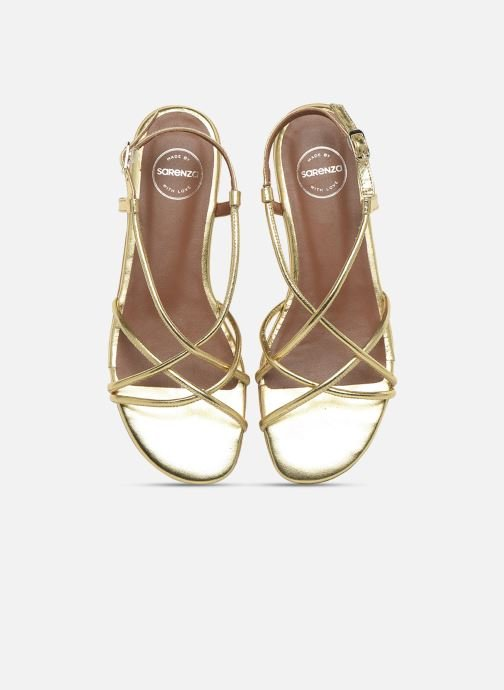 Sandalen Made by SARENZA Riviera Couture Sandales Plates #2 Goud en brons model