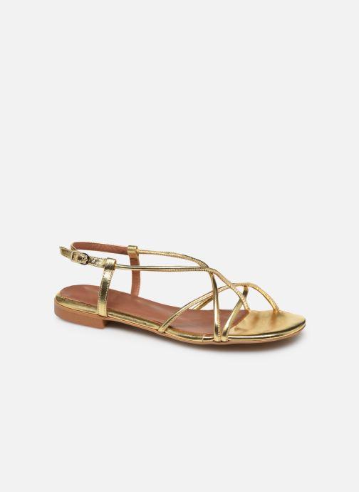 Sandali e scarpe aperte Made by SARENZA Riviera Couture Sandales Plates #2 Oro e bronzo immagine destra