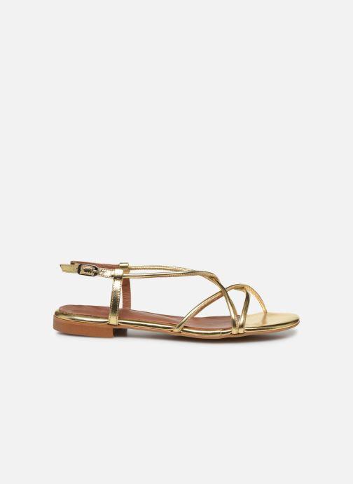 Sandales et nu-pieds Made by SARENZA Riviera Couture Sandales Plates #2 Or et bronze vue détail/paire