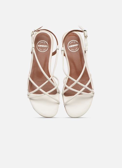 Made By Sarenza Riviera Couture Sandales Plates #2 (blanc) - Et Nu-pieds Blanc (cuir Lisse Blanc) ORSAvKBh