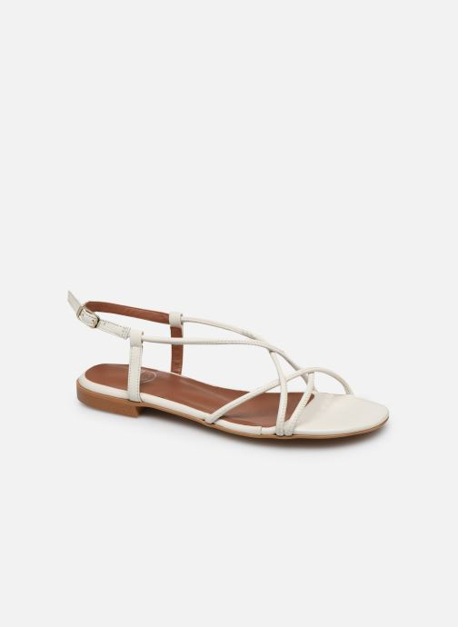 Sandalias Made by SARENZA Riviera Couture Sandales Plates #2 Blanco vista lateral derecha