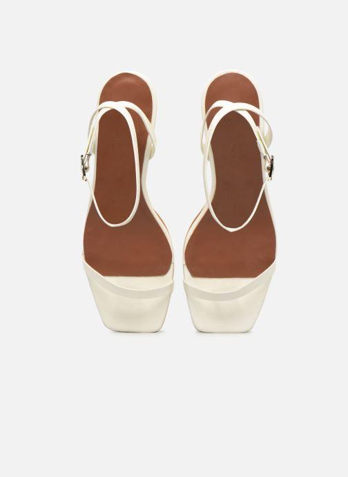 Sandales et nu-pieds Made by SARENZA Riviera Couture Sandales à Talon #1 Blanc vue portées chaussures