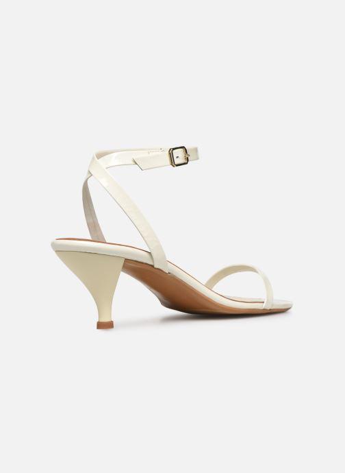 Sandales et nu-pieds Made by SARENZA Riviera Couture Sandales à Talon #1 Blanc vue face