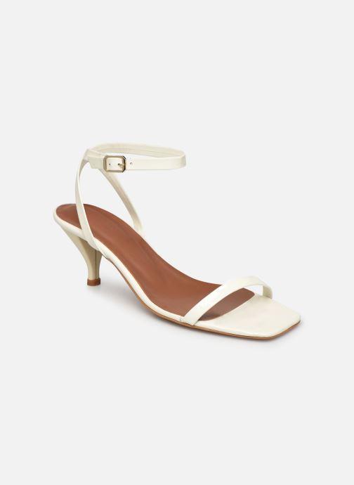 Sandales et nu-pieds Made by SARENZA Riviera Couture Sandales à Talon #1 Blanc vue droite