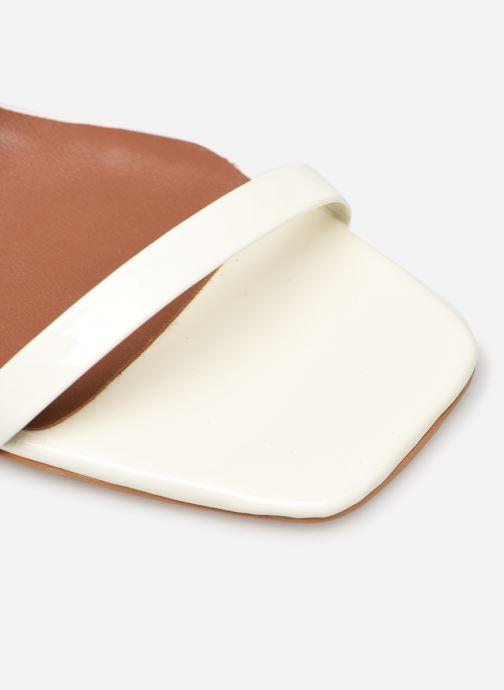 Sandales et nu-pieds Made by SARENZA Riviera Couture Sandales à Talon #1 Blanc vue gauche
