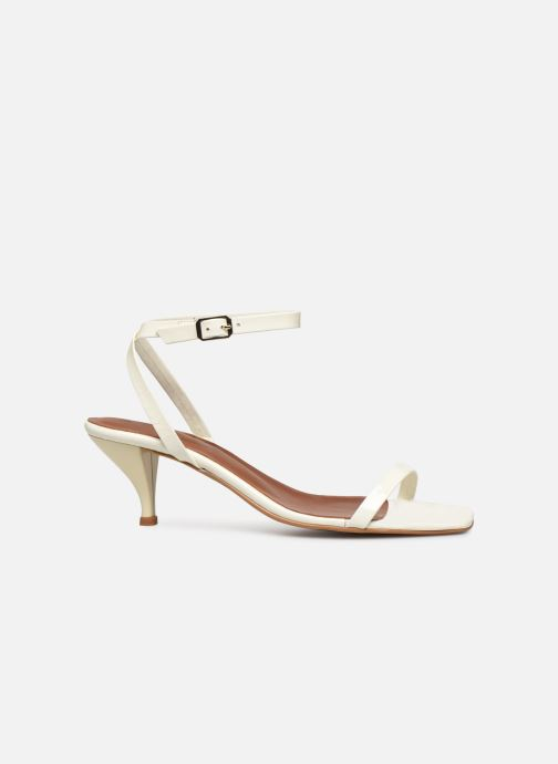 Sandales et nu-pieds Made by SARENZA Riviera Couture Sandales à Talon #1 Blanc vue détail/paire