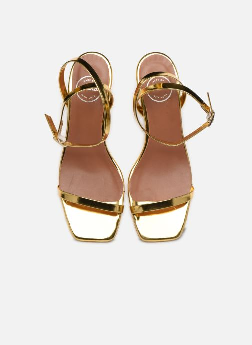 Sandalen Made by SARENZA Riviera Couture Sandales à Talon #1 Goud en brons model