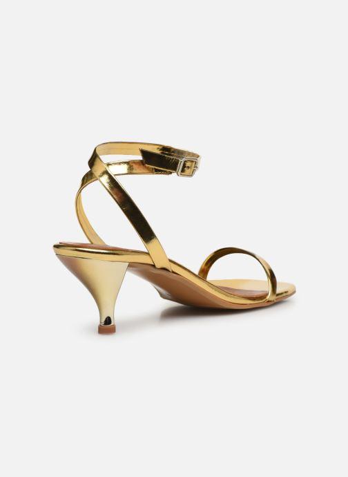 Sandalen Made by SARENZA Riviera Couture Sandales à Talon #1 Goud en brons voorkant