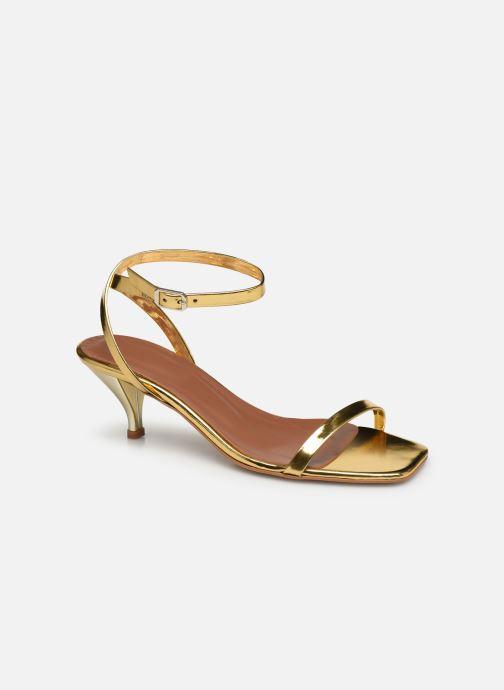 Sandalen Made by SARENZA Riviera Couture Sandales à Talon #1 Goud en brons rechts