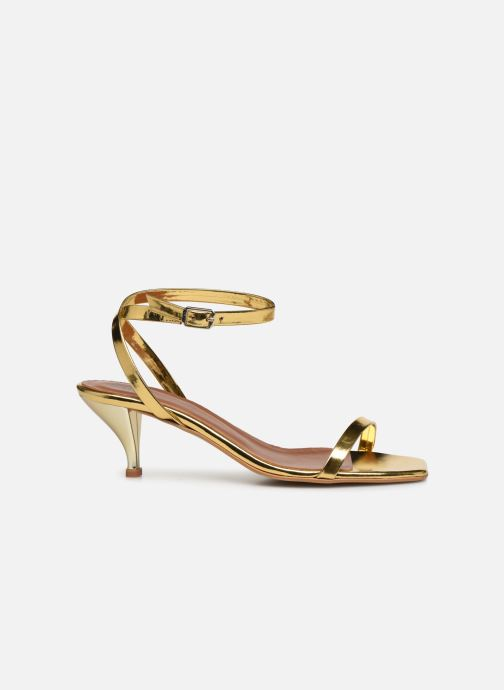 Sandalen Made by SARENZA Riviera Couture Sandales à Talon #1 Goud en brons detail