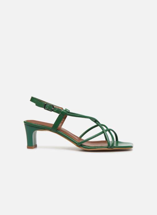 Sandales et nu-pieds Made by SARENZA Riviera Couture Sandales à Talon #3 Vert vue détail/paire