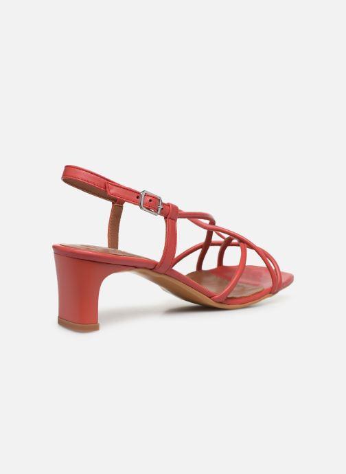 Sandali e scarpe aperte Made by SARENZA Riviera Couture Sandales à Talon #3 Rosso immagine frontale