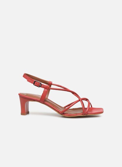 Sandales et nu-pieds Made by SARENZA Riviera Couture Sandales à Talon #3 Rouge vue détail/paire