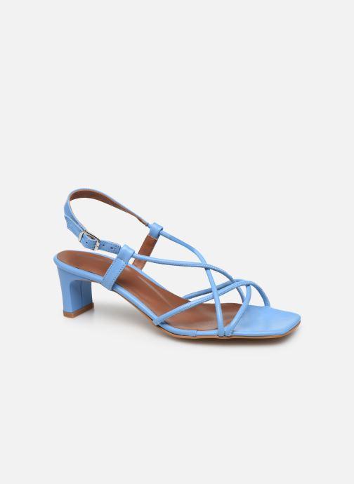 Sandales et nu-pieds Made by SARENZA Riviera Couture Sandales à Talon #3 Bleu vue droite