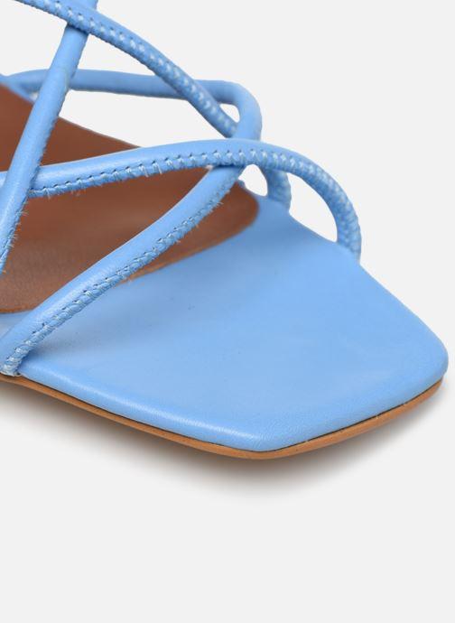 Sandales et nu-pieds Made by SARENZA Riviera Couture Sandales à Talon #3 Bleu vue gauche