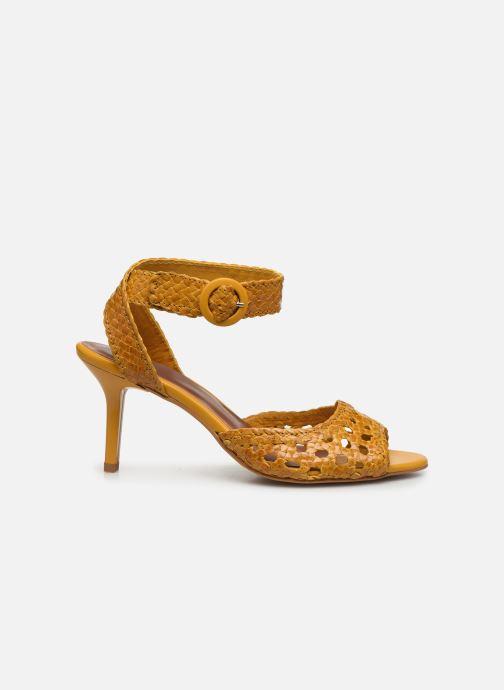 Sandalen Made by SARENZA Riviera Couture Sandales à Talon #5 Geel detail