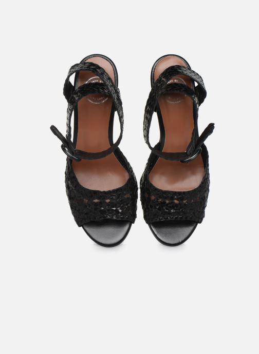 Sandales et nu-pieds Made by SARENZA Riviera Couture Sandales à Talon #5 Noir vue portées chaussures