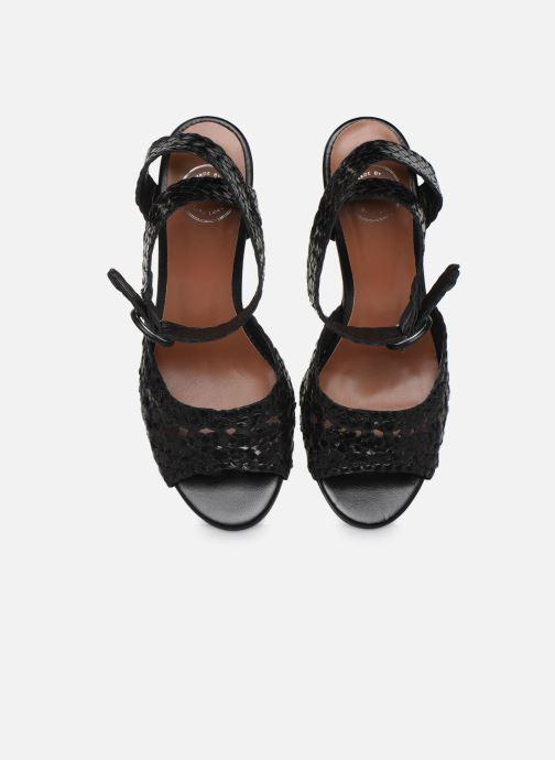 Sandali e scarpe aperte Made by SARENZA Riviera Couture Sandales à Talon #5 Nero modello indossato