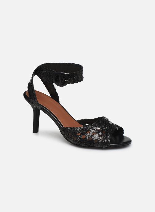 Sandales et nu-pieds Made by SARENZA Riviera Couture Sandales à Talon #5 Noir vue droite