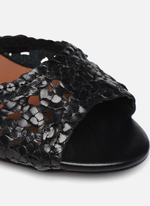 Sandali e scarpe aperte Made by SARENZA Riviera Couture Sandales à Talon #5 Nero immagine sinistra