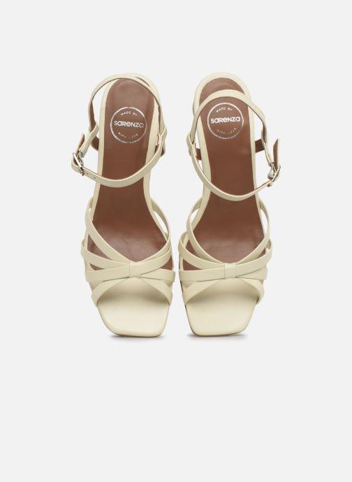 Sandales et nu-pieds Made by SARENZA Riviera Couture Sandales à Talon #2 Blanc vue portées chaussures