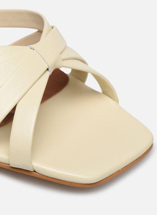 Sandales et nu-pieds Made by SARENZA Riviera Couture Sandales à Talon #2 Blanc vue gauche