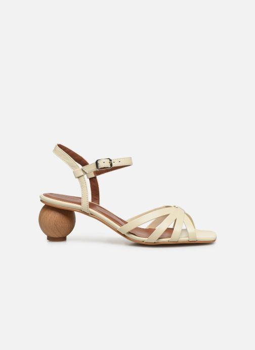Sandales et nu-pieds Made by SARENZA Riviera Couture Sandales à Talon #2 Blanc vue détail/paire