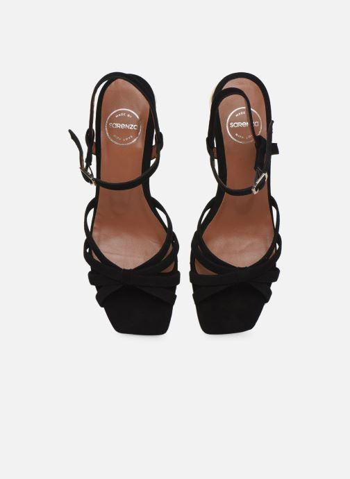 Sandalias Made by SARENZA Riviera Couture Sandales à Talon #2 Negro vista del modelo