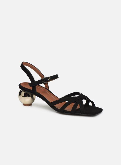 Sandalias Made by SARENZA Riviera Couture Sandales à Talon #2 Negro vista lateral derecha