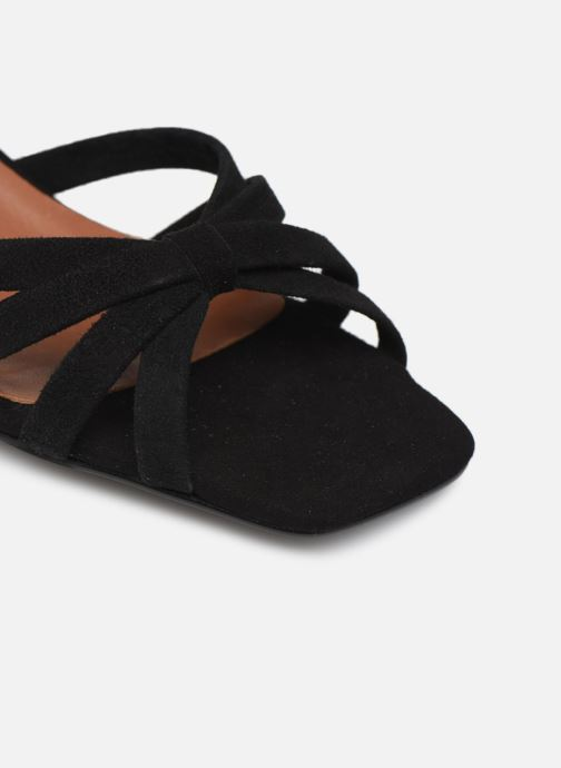 Sandalias Made by SARENZA Riviera Couture Sandales à Talon #2 Negro vista lateral izquierda