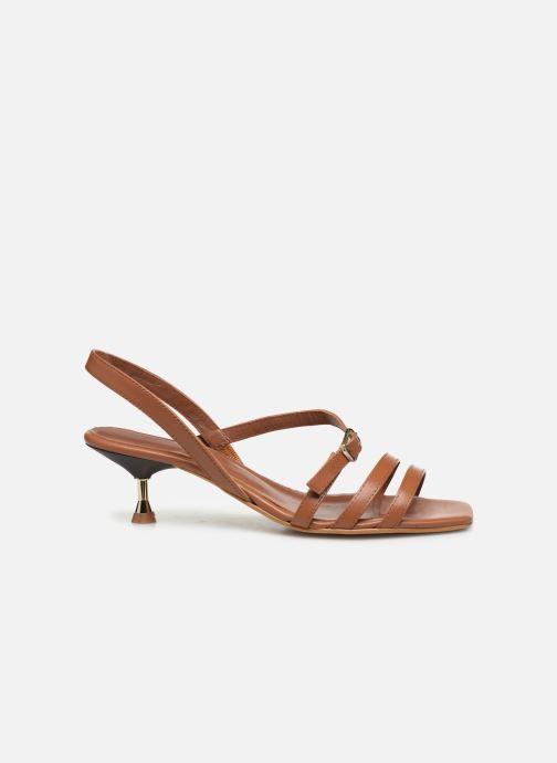 Sandales et nu-pieds Made by SARENZA Riviera Couture Sandales à Talon #4 Marron vue détail/paire