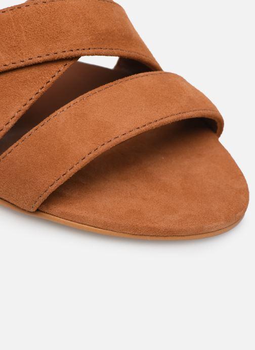 Sandalen Made by SARENZA Riviera Couture Sandales à Talon #6 Bruin links
