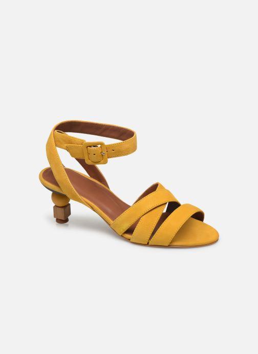 Sandali e scarpe aperte Made by SARENZA Riviera Couture Sandales à Talon #6 Giallo immagine destra