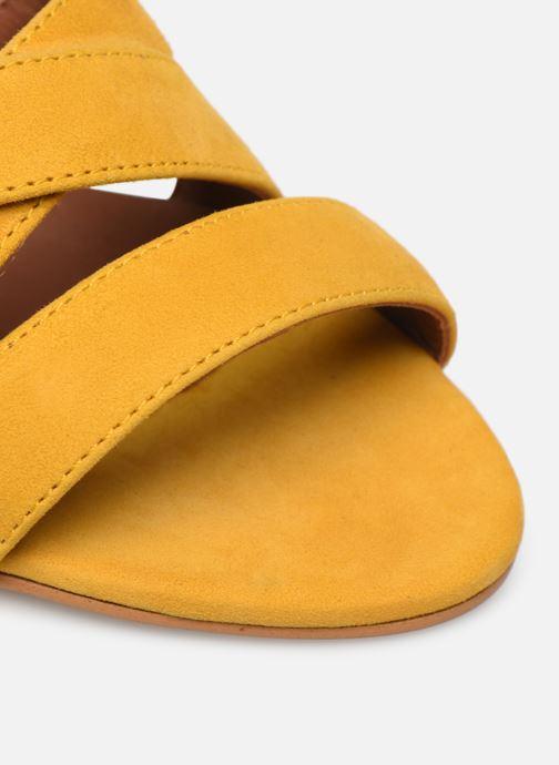 Sandali e scarpe aperte Made by SARENZA Riviera Couture Sandales à Talon #6 Giallo immagine sinistra